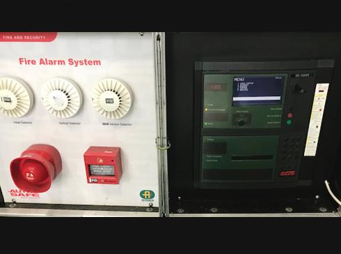 Autronica社製 火災探知警報装置(デモ機)