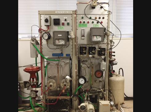 空気式自動制御シミュレーター(空気式レベル制御、空気式温度制御)
